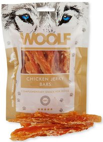 Woolf Chicken Jerky Bars przysmak 100g