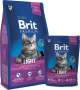 Brit Premium Cat Light Sucha Karma 1.5kg