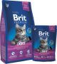 Brit Premium Cat Light Sucha Karma 8kg
