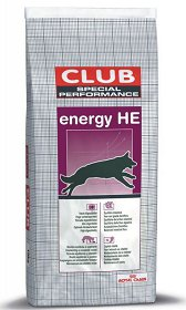 Royal Canin Special Club Adult Energy HE Sucha Karma 20kg