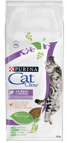 Purina Cat Chow Hairball Control 15kg + Cat Chow 4x85g GRATIS