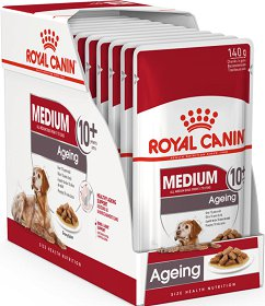Royal Canin Medium Ageing 10+ Mokra Karma 10x140g PAKIET