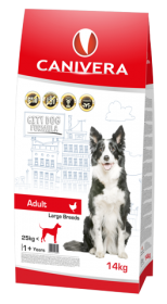 Canivera Adult Large Breed Sucha Karma 14kg+3kg GRATIS