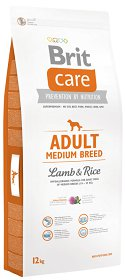 Brit Care Adult Medium Breed Lamb&Rice Sucha Karma z jagnięciną 12kg