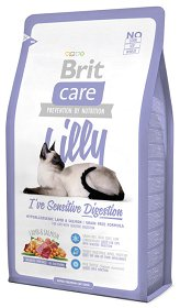Brit Care Cat Lilly Ive sensitive digestion Sucha Karma 2kg